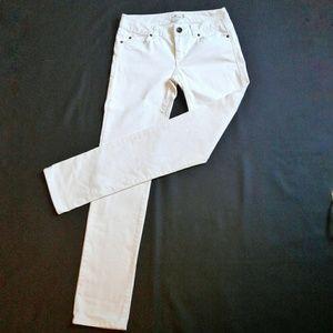 Vineyard Vines White Skinny Denim Jeans Size 0